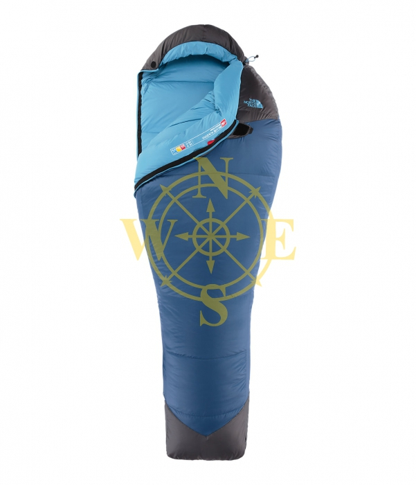 Спальный мешок пух/Sleeping Bagdown comfort -11C The North Face Blue Kazoo
