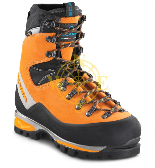 Ботинки одинарные утепленные/Technical mountaineering boots insulated Scarpa Monblan